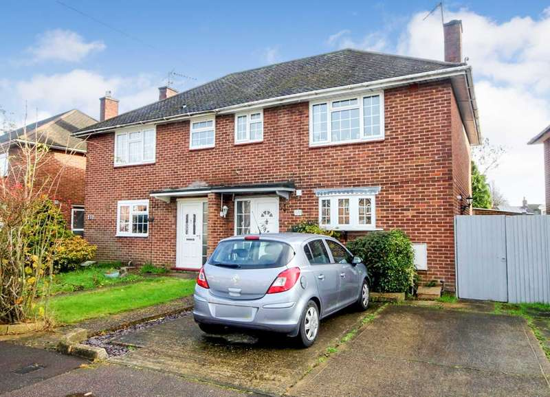 3 Bedrooms Semi Detached House for sale in WELL PRESENTED 3 BED SEMI conveniently located for LOCAL SHOPS, SCHOOLS, amenities and GREEN LINE service to London.