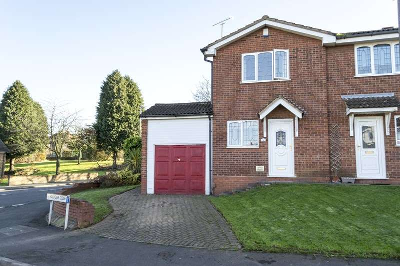 2 Bedrooms Semi Detached House for sale in Hollyoake Close, Oldbury