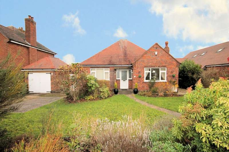3 Bedrooms Detached Bungalow for sale in Claremont Road, Coton Green, Tamworth, B79 8EW