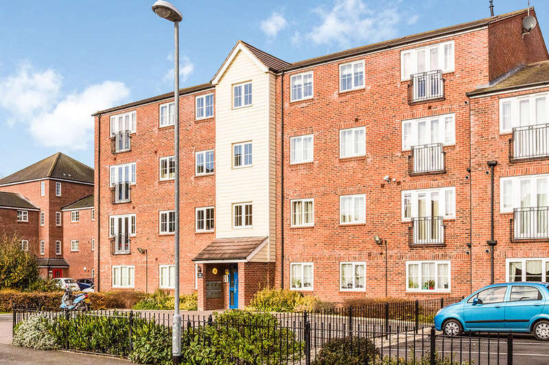 2 Bedrooms Flat for sale in Mill Bridge Close, Retford, DN22