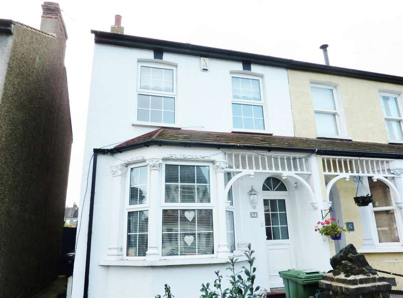 4 Bedrooms Semi Detached House for sale in Havelock Road, Belvedere, Kent, DA17 5EX