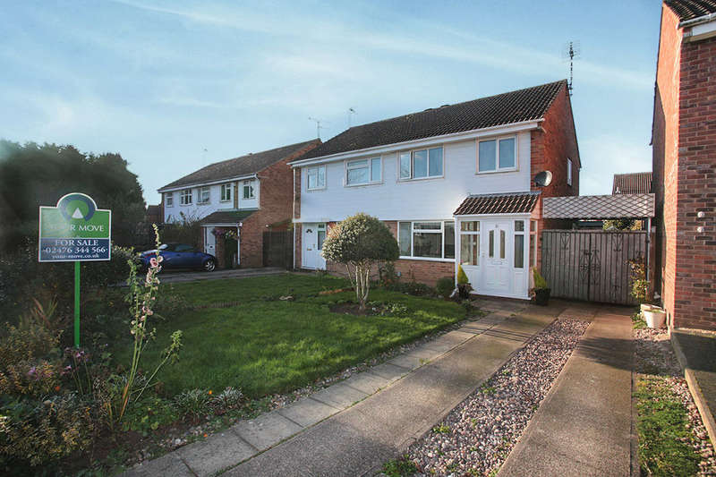 3 Bedrooms Semi Detached House for sale in Regency Close, Weddington, Nuneaton, CV10