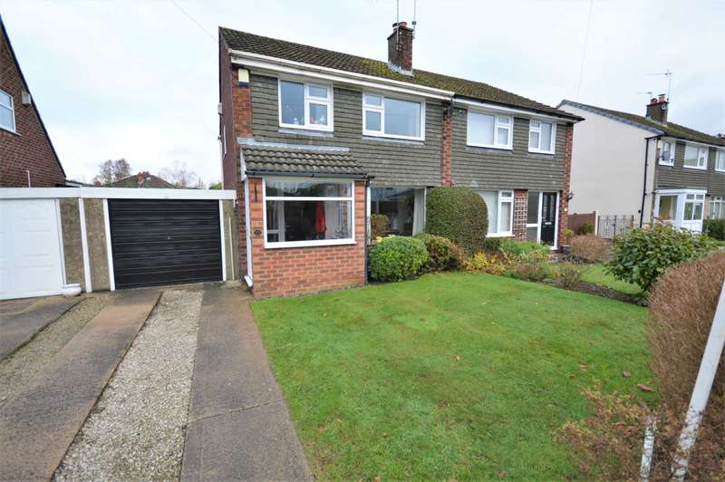 3 Bedrooms Semi Detached House for sale in Newlyn Close, Hazel Grove