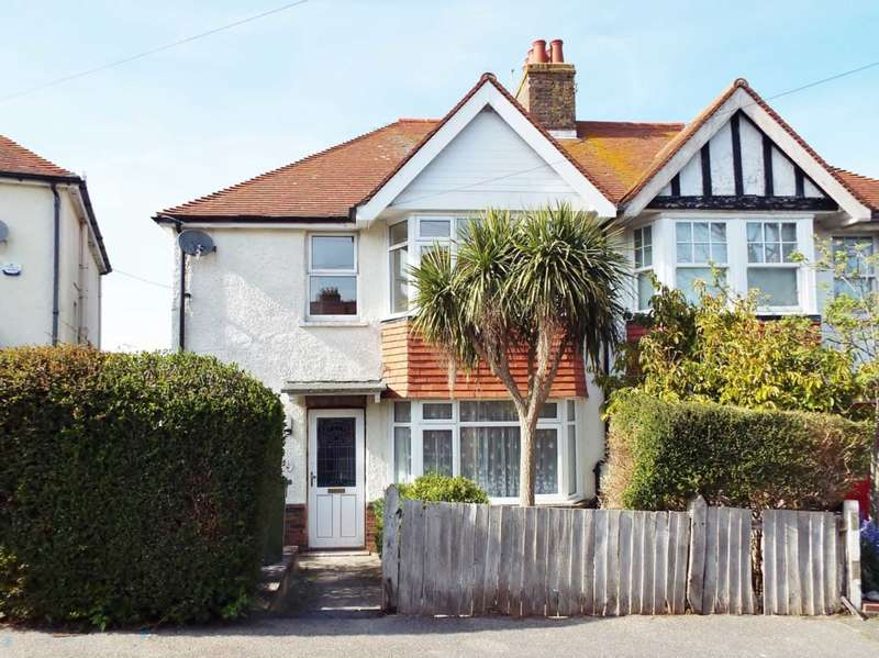 3 Bedrooms Semi Detached House for sale in Downs Avenue, Eastbourne, BN20 8TW
