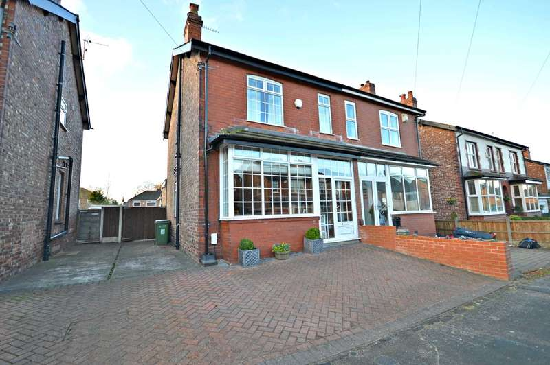 3 Bedrooms Semi Detached House for sale in Coral Road, Cheadle Hulme