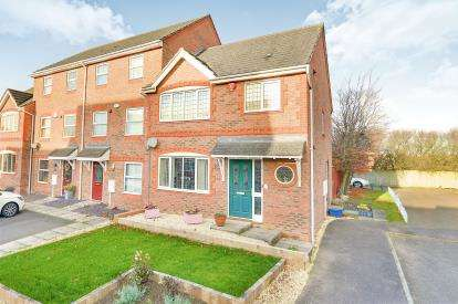 3 Bedrooms End Of Terrace House for sale in Cheshire Rise, Bletchley, Milton Keynes