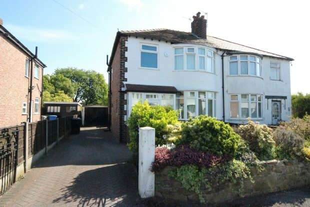 3 Bedrooms Semi Detached House for sale in Sandford Road, Sale