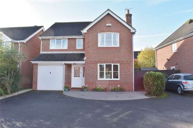 4 Bedrooms Detached House for sale in Malmsey Close, Stonehills, Tewkesbury, Gloucestershire