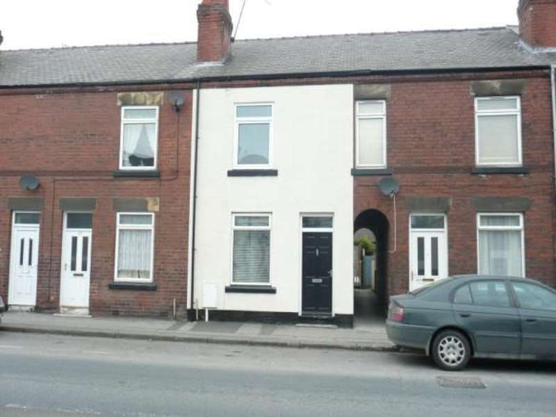 3 Bedrooms Terraced House for sale in Chatsworth Road, Chesterfield, Derbyshire, S40