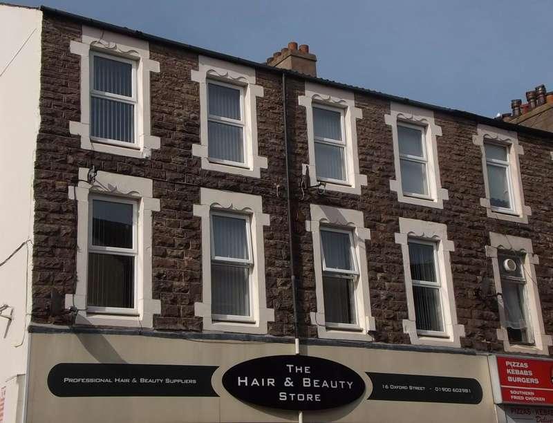 1 Bedroom Flat for rent in Oxford Street, Workington, CA14