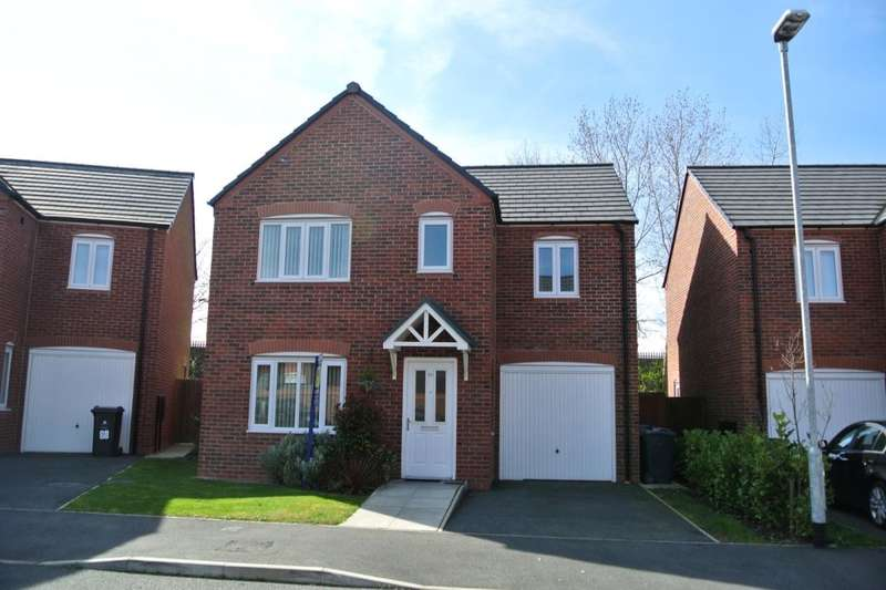 4 Bedrooms Detached House for sale in Speakman Way, Prescot, L34