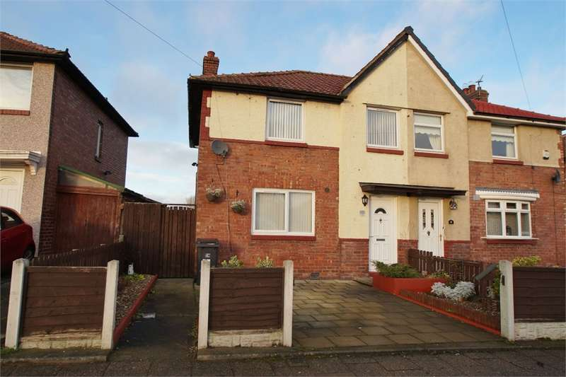 3 Bedrooms Semi Detached House for sale in CA2 7DR Creighton Avenue, Off Bower Street, Carlisle, Cumbria