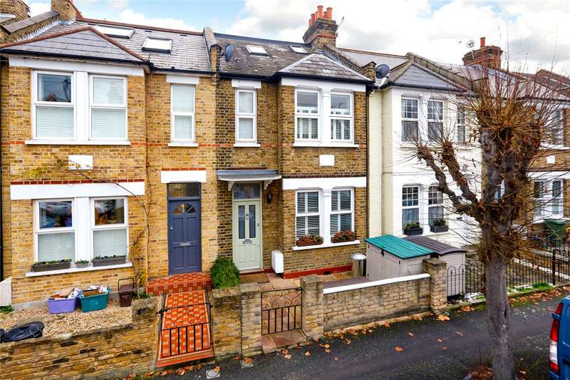 3 Bedrooms Terraced House for sale in Aston Road, London, SW20