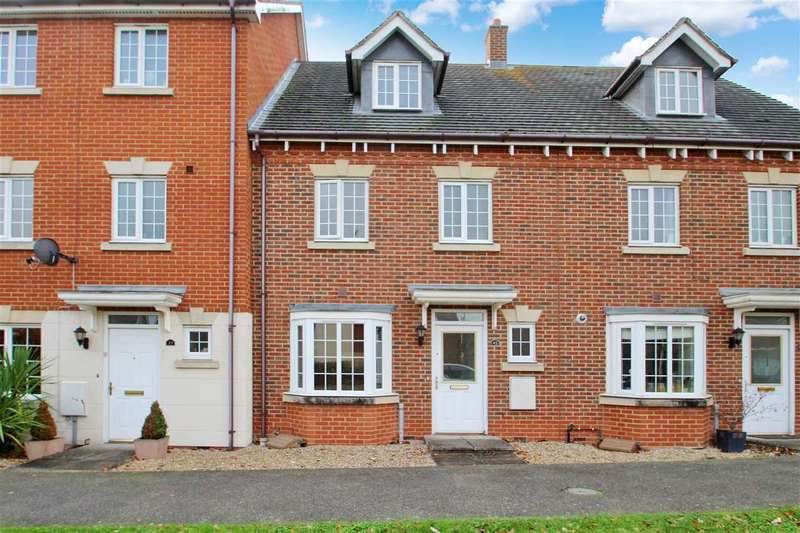 4 Bedrooms Town House for sale in Century Drive, Grange Farm, Kesgrave, Ipswich