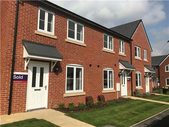 3 Bedrooms End Of Terrace House for sale in Plot 56, The Halt, Box Road, Cam, DURSLEY, Glos, GL11 5DJ