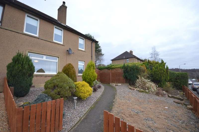 3 Bedrooms Semi Detached House for sale in Deerpark, Sauchie, Alloa, FK10