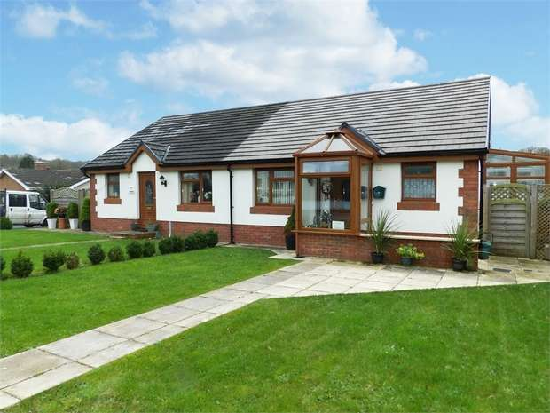 2 Bedrooms Semi Detached Bungalow for sale in Bolahaul Road, Cwmffrwd, Carmarthen