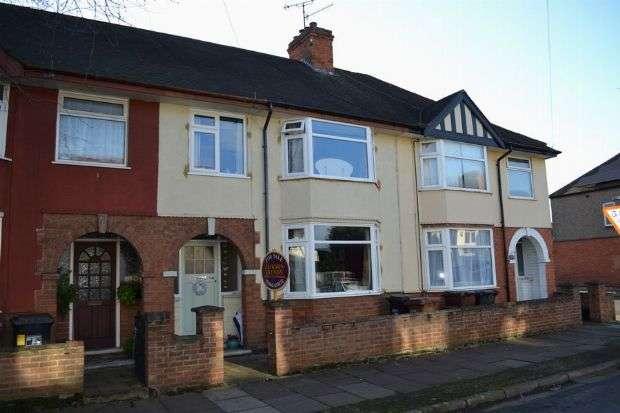 3 Bedrooms Terraced House for sale in Penrhyn Road, Far Cotton, Northampton NN4 8EB