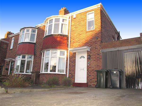 2 Bedrooms Semi Detached House for sale in Eastward Green, Whitley Bay
