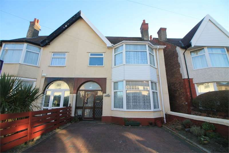 5 Bedrooms Semi Detached House for sale in Brooke Road West, Brighton-le-Sands, Merseyside, Merseyside
