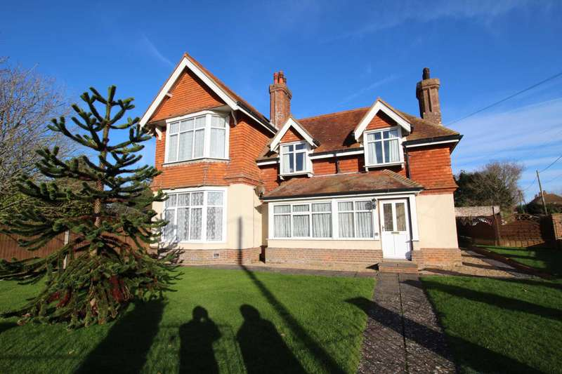 5 Bedrooms Detached House for sale in Hailsham Road, Stone Cross, BN24 5BY
