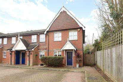 3 Bedrooms End Of Terrace House for sale in Royal Close, Locksbottom, Kent