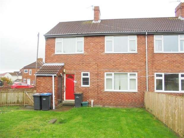 3 Bedrooms Semi Detached House for sale in Braunespath Estate, New Brancepeth, Durham