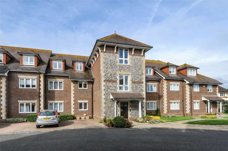 3 Bedrooms Apartment Flat for sale in Greenfields, Penn Close, Middleton-on-Sea, West Sussex, PO22