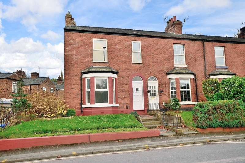 3 Bedrooms End Of Terrace House for sale in Knutsford Road, Latchford, Warrington