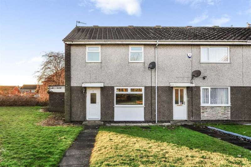 3 Bedrooms End Of Terrace House for sale in Beech Walk, Eastfield, Scarborough
