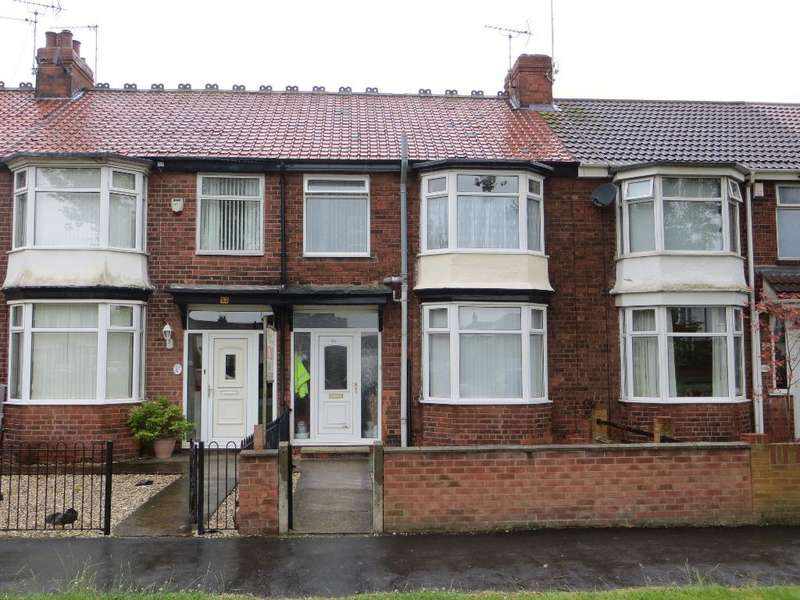 3 Bedrooms Terraced House for rent in Pickering Road, Hull, HU4 6TL