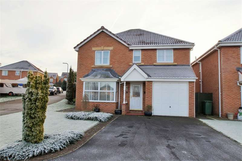 4 Bedrooms Detached House for sale in CA1 3TH Dalesman Drive, Carlisle, Cumbria