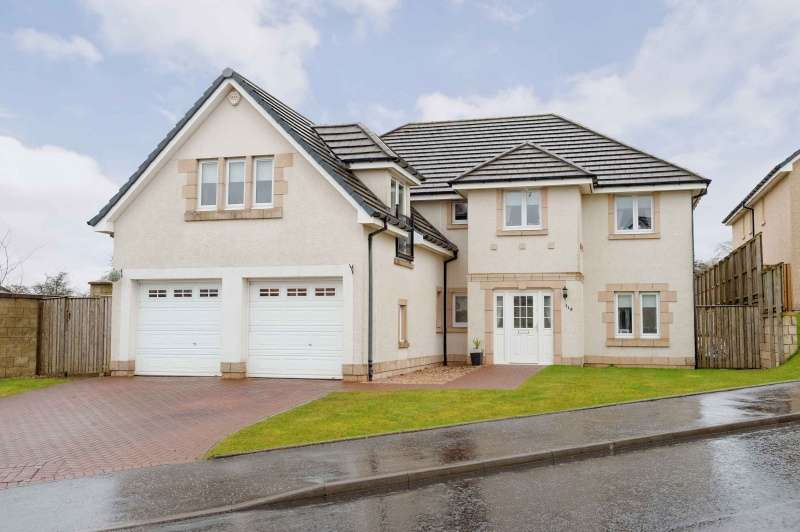 5 Bedrooms Detached House for sale in Cortmalaw Crescent, Robroyston, Glasgow, G33 1TB