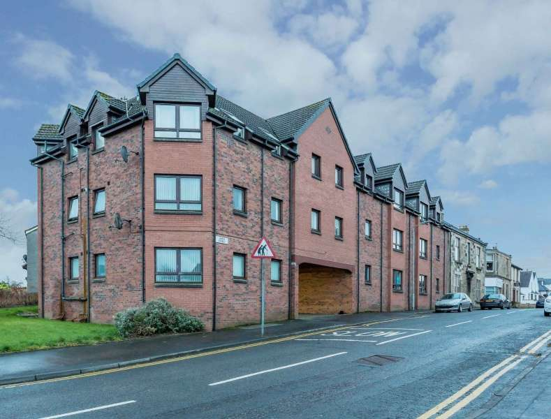 1 Bedroom Flat for sale in James Street, Dalry, North Ayrshire, KA24 5ET
