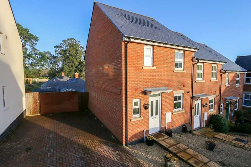 3 Bedrooms End Of Terrace House for sale in Sampson Close, Sidmouth