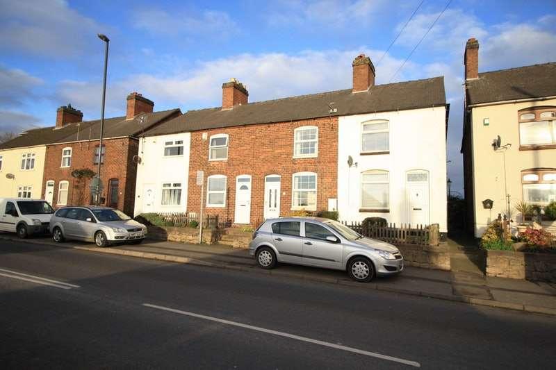 2 Bedrooms Terraced House for sale in Burton Road, Swadlincote, Derbyshire, DE12