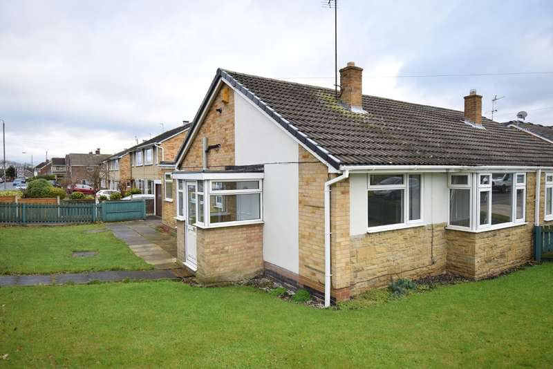 2 Bedrooms Semi Detached Bungalow for sale in Slack Lane, Crofton, Wakefield