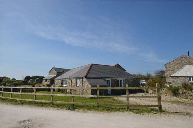 3 Bedrooms Detached Bungalow for sale in Wendron, Helston, Cornwall
