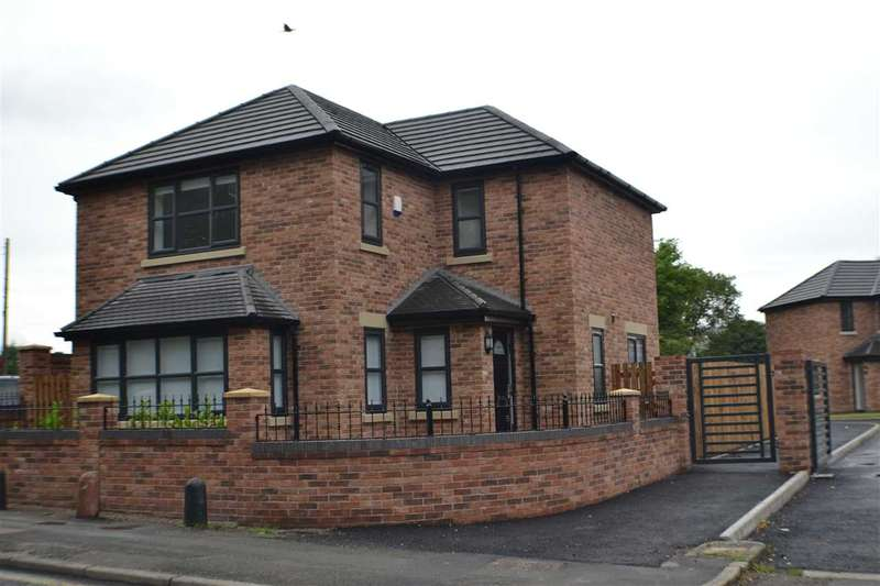4 Bedrooms Detached House for sale in John Molyneux V C Close, St Helens