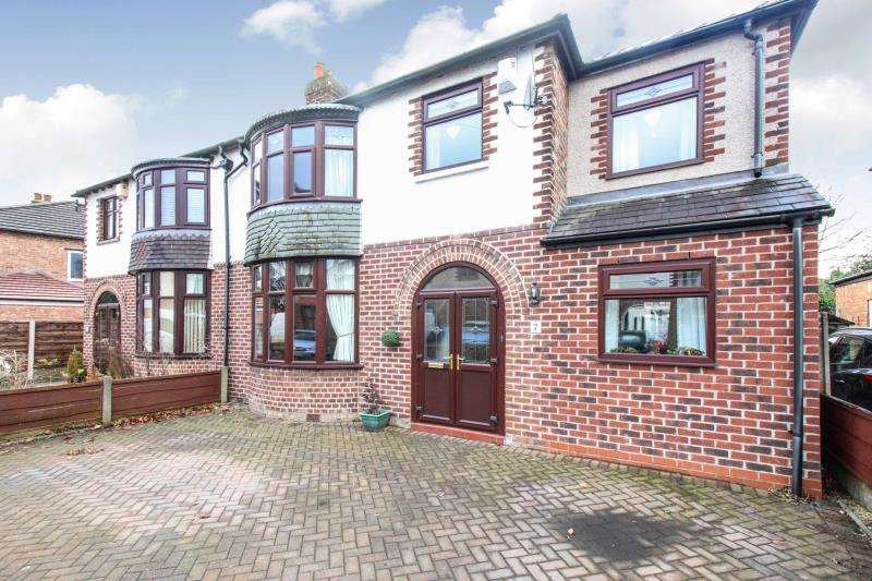 3 Bedrooms Semi Detached House for sale in Carlton Drive, Gatley