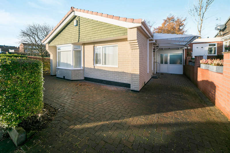 2 Bedrooms Detached Bungalow for sale in Elsdon Court, Whickham, Newcastle Upon Tyne, NE16