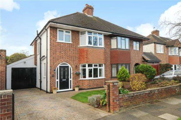 3 Bedrooms Semi Detached House for sale in Grosvenor Road, Staines-upon-Thames, Surrey