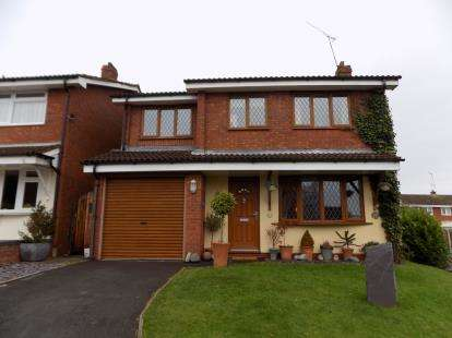 4 Bedrooms Detached House for sale in Addison Close, Nuneaton, Warwickshire, .
