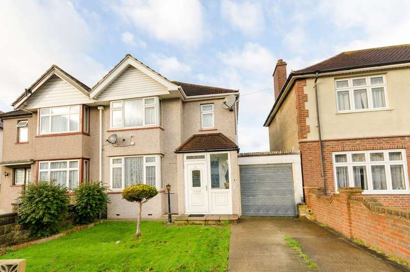 3 Bedrooms Semi Detached House for sale in Cranborne Avenue, Surbiton, KT6