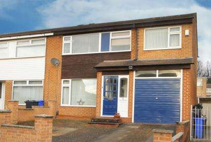 4 Bedrooms Semi Detached House for sale in Hollybank Close, Sheffield, South Yorkshire
