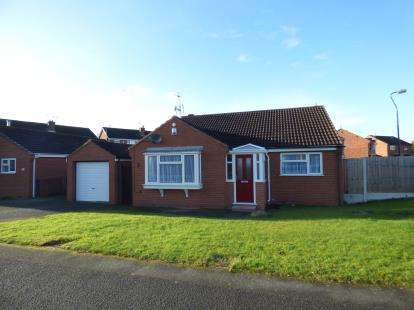 3 Bedrooms Bungalow for sale in Glastonbury Road, Alvaston, Derby, Derbyshire