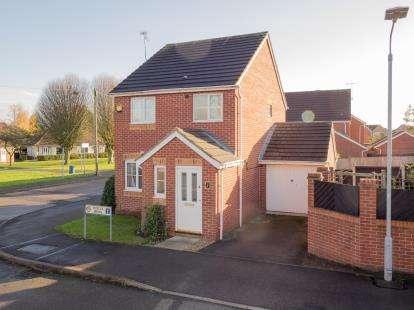 3 Bedrooms Detached House for sale in Viyella Mews, Hucknall, Nottingham, Nottinghamshire