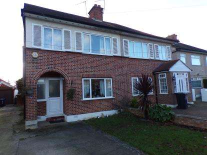 3 Bedrooms Semi Detached House for sale in Gurney Road, Northolt, Middlesex