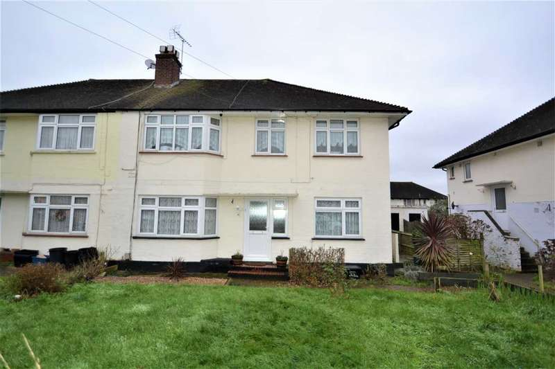 2 Bedrooms Maisonette Flat for sale in Caernarvon Drive, Clayhall, Ilford
