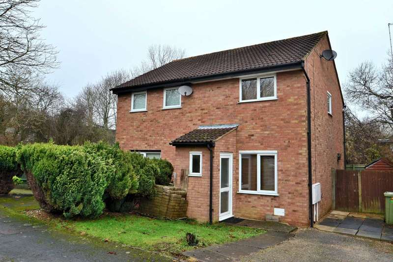 2 Bedrooms Semi Detached House for sale in Squires Close, Coffee Hall